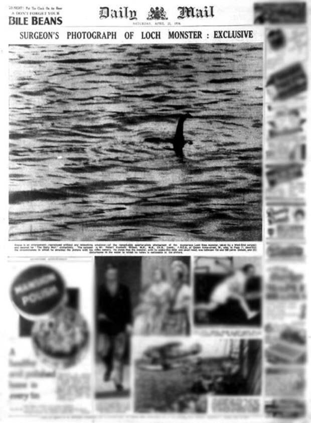 Выпуск Daily mail с легендарным снимком. /Фото: fern-flower.org