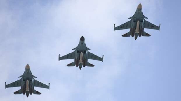 Эскадрилья российских Су-34 будет базироваться на арктических островах