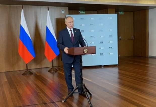 Путин предупредил желающих войти в зону разведения сил на Донбассе