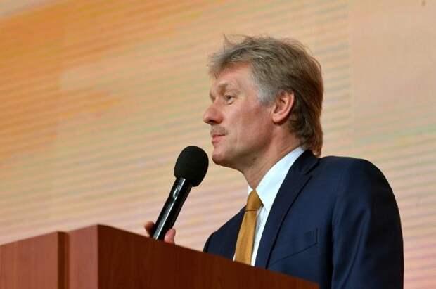Песков отреагировал на новые санкции США против «СП-2»