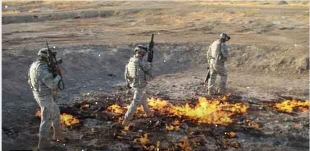 Вечный огонь в Ираке, который горит уже более 4000 лет