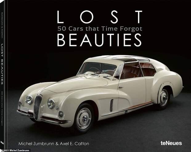 Обложка книги «Lost Beauties: 50 Cars That Time Forgot» издательства teNeues