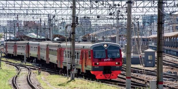 Расписание пригородных поездов от станций Молжаниново и Подрезково изменится 25-27 мая