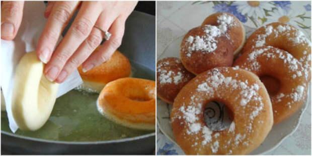 Рецепт домашних пончиков, которые тают во рту. А все благодаря этому особому тесту
