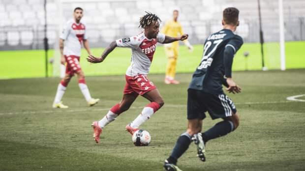 «Монако» одержал победу над «Бордо» в матче Лиги 1