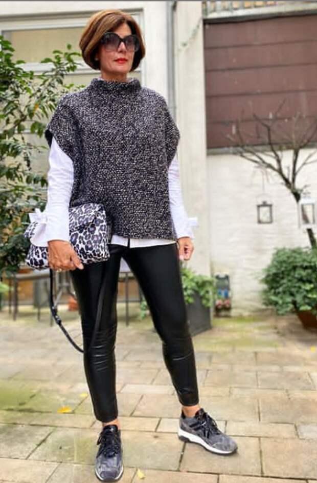 Модницей можно стать в любом возрасте, было бы желание. Образы женщины 50+