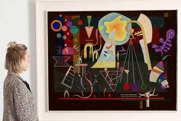 Картину Василия Кандинского выставили на аукцион