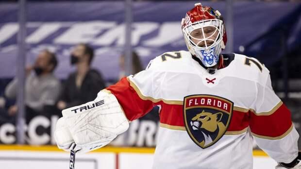 «Тампа» уступила «Флориде», несмотря на 41 сэйв Василевского, Бобровский сыграл на ноль после выхода на замену