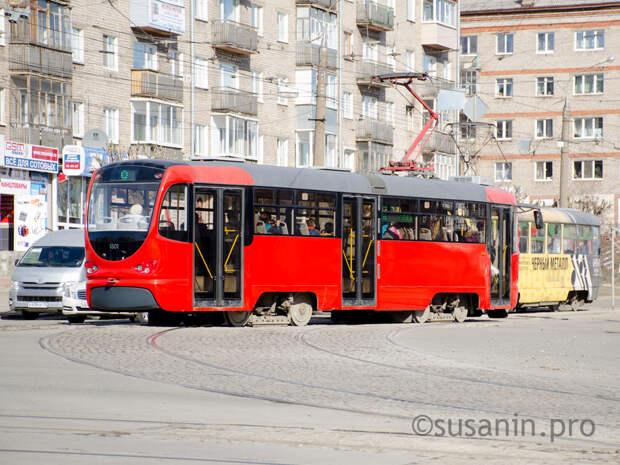 В Ижевске восстановили движение трамваев 1 и 5 маршрутов