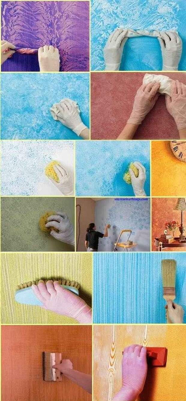 И еще куча способов украсить стены всячина, интересное, мастера, поделки, сделай сам, фантазия