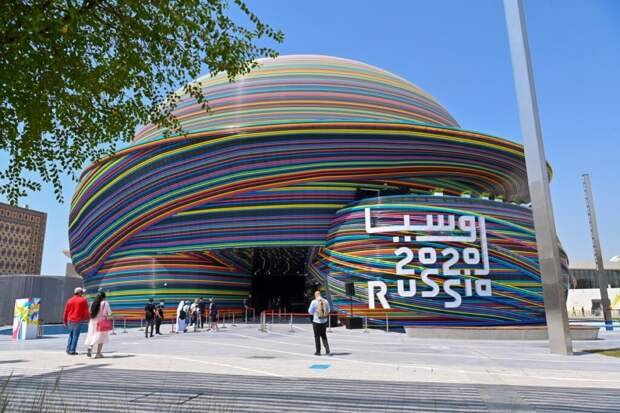 Правитель Дубая посетил павильон России на «Экспо-2020»
