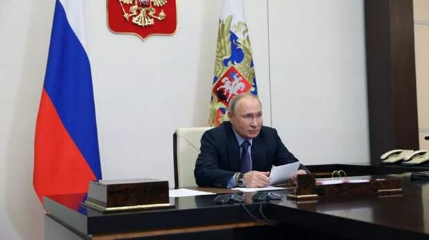 Путин напомнил о военной активности Украины наюго-востоке страны