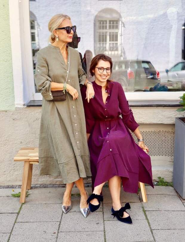 Летний Бохо стиль для дам в зрелом возрасте