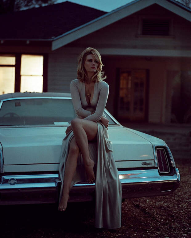 January Jones by Vincent Peters