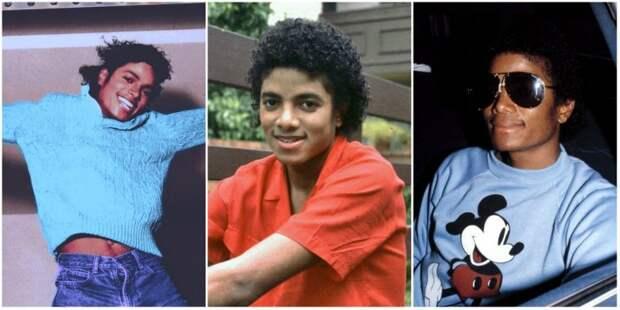 Фотографии молодого Майкла Джексона в 80-е годы