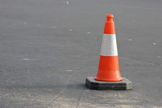 Предостережение, Конус, Оранжевый, Трафика, Уайт