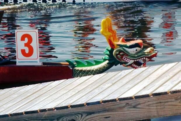 В Сянгане прошли гонки на лодках по суше