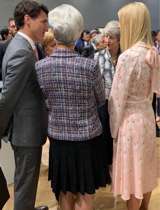 Нежная сакура: Иванка Трамп на саммите G20 (фото 2.2)