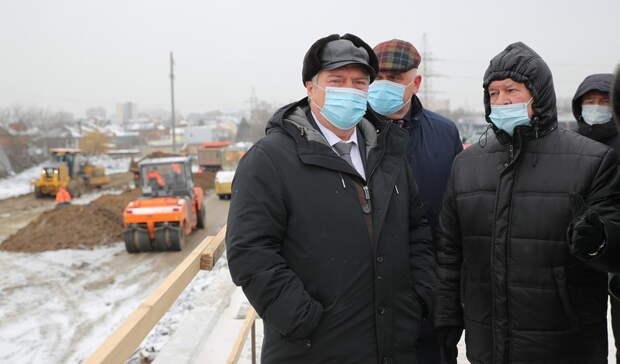 Движение автобусов по ростовском мосту на Малиновского возобновят к концу апреля