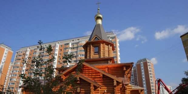 Строительство храма на Клинской завершится до конца августа