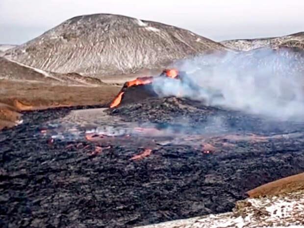 В Исландии выставлен на продажу действующий вулкан