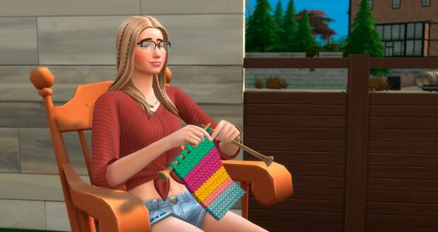 Как омолодить персонажа в игре The Sims 4?