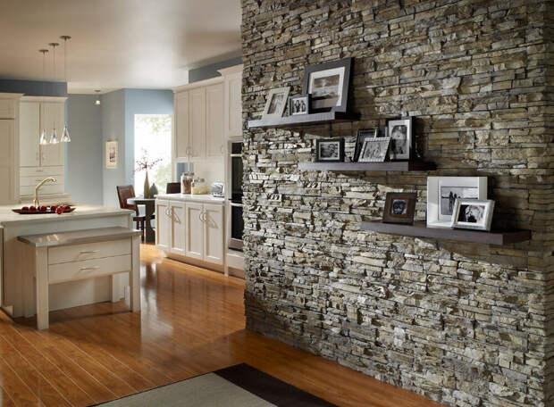 Камень в дизайне интерьера. Подбираем умело