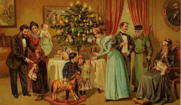 Новогодние украшения дома и праздничного стола. Часть 1