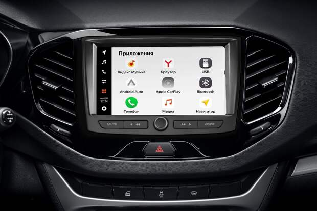 """""""АвтоВАЗ"""" представил мультимедийную систему EnjoY Pro для автомобилей LADA"""