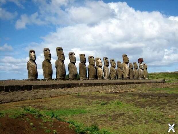 Археологический объект Аху Тонгарики ...