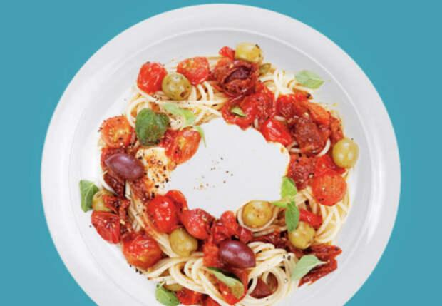Еда в микроволновке разогревается равномерно: выкладываем кольцом