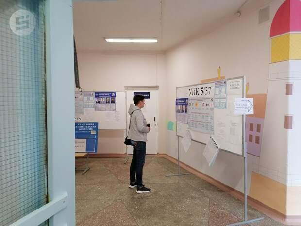 Явка на выборы депутатов Гордумы в Ижевске на 10:00 составила 9,28%