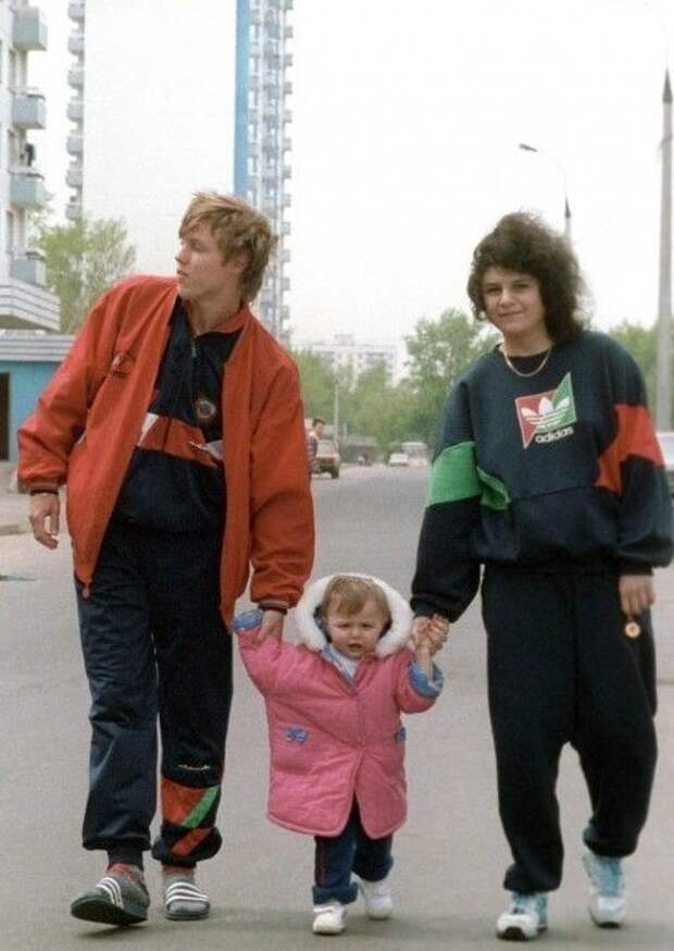 А еще носили спортивные костюмы мода, ностальгия, одежда 90-х, перестройка, уродливые вещи