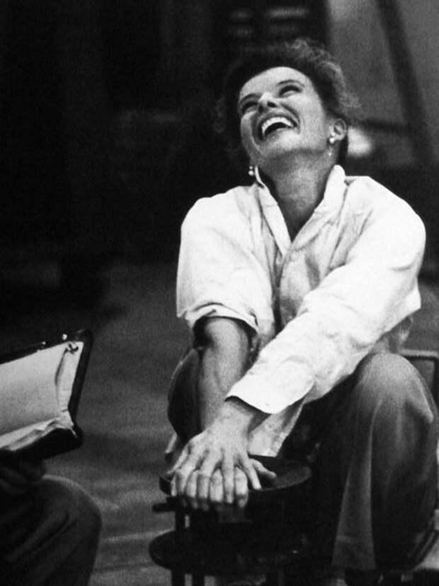 Неувядающая красота Кэтрин Хепбёрн.