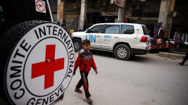 Израиль обстрелял отделение Красного полумесяца в секторе Газа