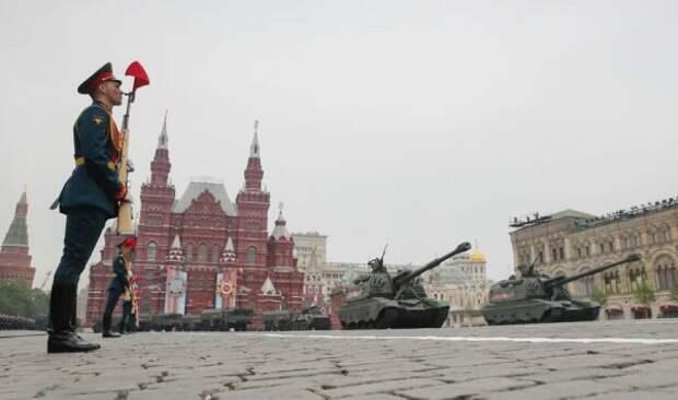 Генеральная репетиция парада Победы пройдет наКрасной площади