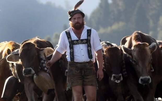 Баварский пастух