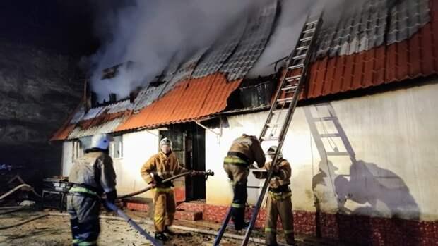 В МЧС Крыма рассказали причину пожара в Кизилташском монастыре