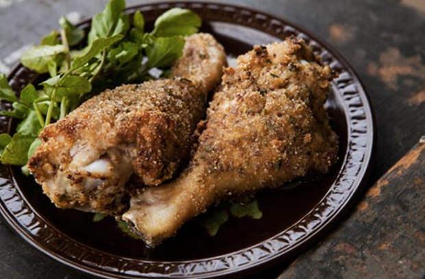 Заложили в форму куриные голени: просто меняем маринад и получаем 7 разных вкусов на каждый день