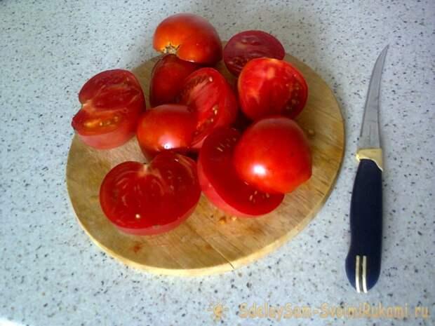 Способ заморозки помидор
