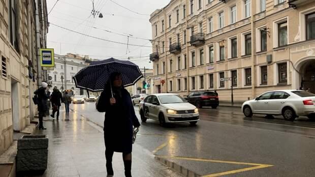 Петербуржцев предупредили о надвигающихся грозах