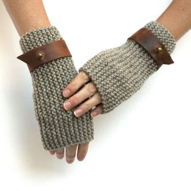 Необычные варежки, перчатки и митенки