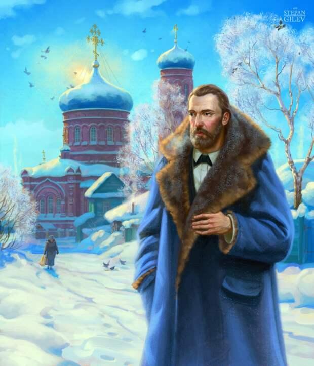 Художник Степан Гилев