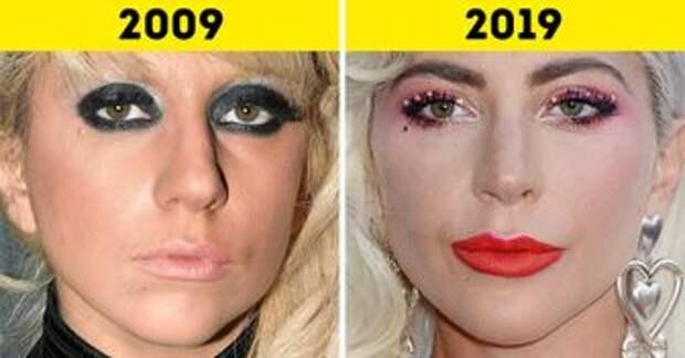 17 сравнений крупным планом, которые наглядно покажут, как с годами меняются лица знаменитостей