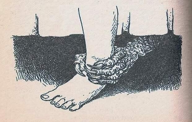 Ла Мано Пелуда или Волосатая рука - жуткие легенды Латинской Америки
