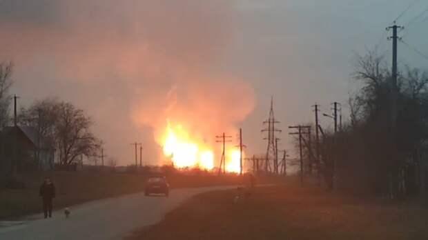 НаУкраине сообщили о«диверсии» намагистральном газопроводе вЕвропу