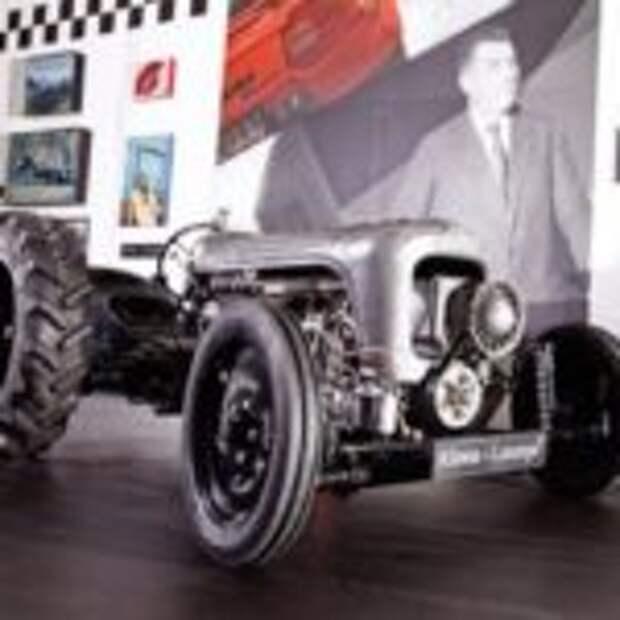 Эксклюзивные трактора от Lamborghini за 250 000 евро