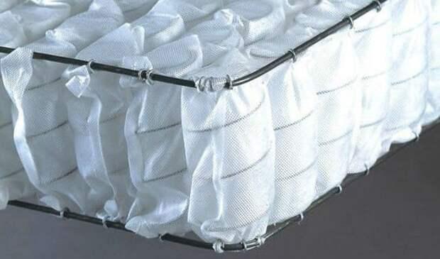 В матрасах Pocket Spring каждая пружина спрятана в отдельный мешочек