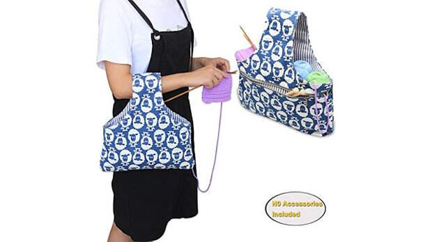 Выкройка сумки для рукодельниц