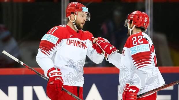 Дания обыграла Белоруссию на групповом этапе ЧМ-2021